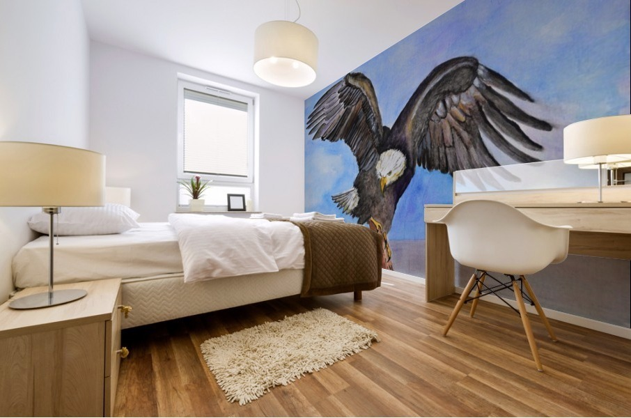 Majestic Eagle  Mural print