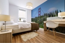 San Francisco Lupines Mural print