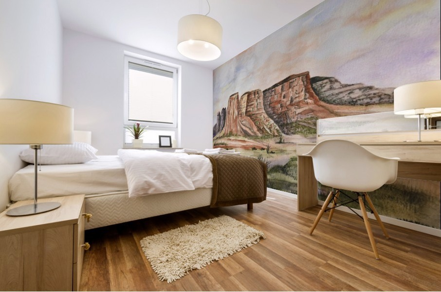 Buttes of Sedona  Mural print