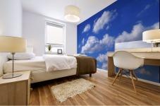 Clouds Mural print