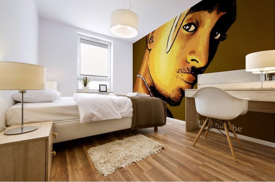 Tupac Mural print