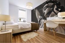 Statue Of Liberty, Lower Manhattan, New York City, New York, Usa Mural print