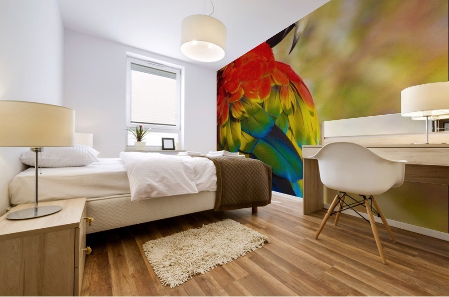 All the Colors of the Rainbow Mural print