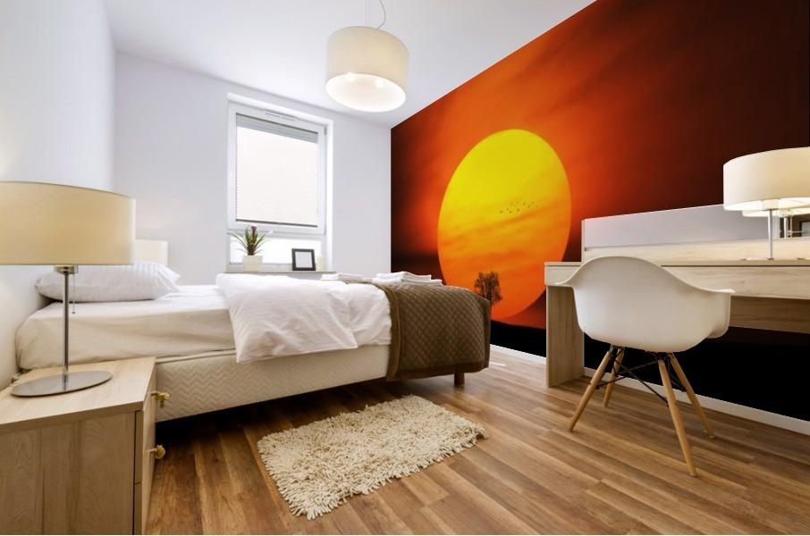 Sunset Mural print