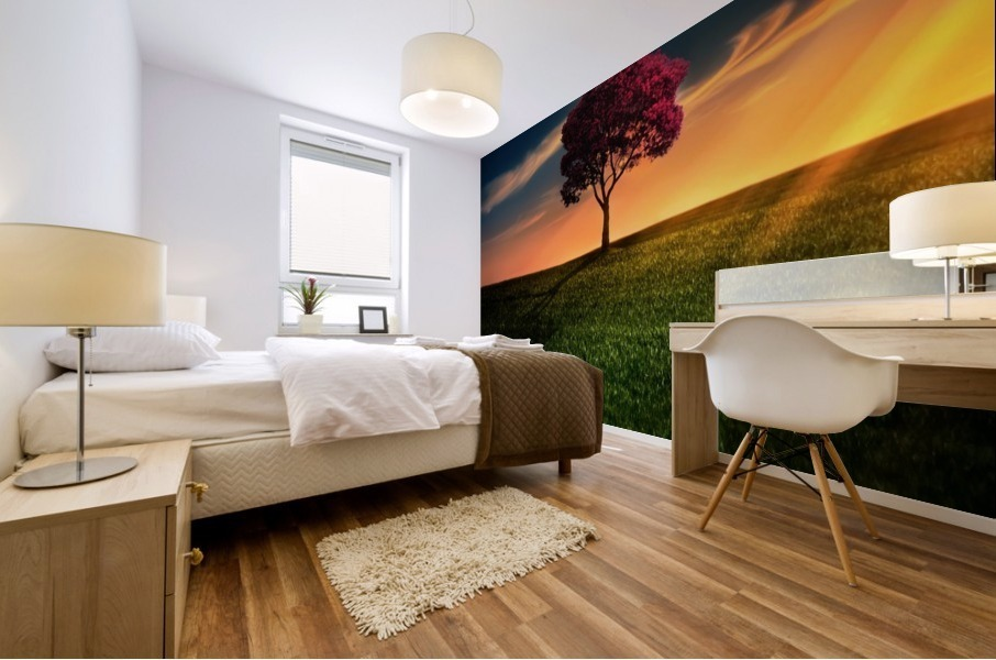Awesome Solitude Mural print