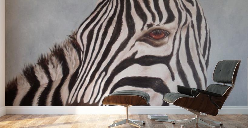 zebra David Drousiotis Canvas