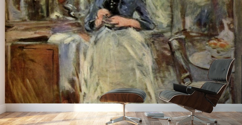 in the dining room berthe morisot canvas morisot in dining room