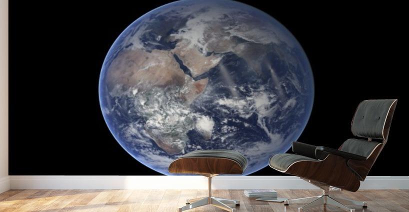 Planet Earth Mural Umorismo Video