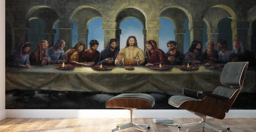 The Last Supper Joey Agbayani Canvas