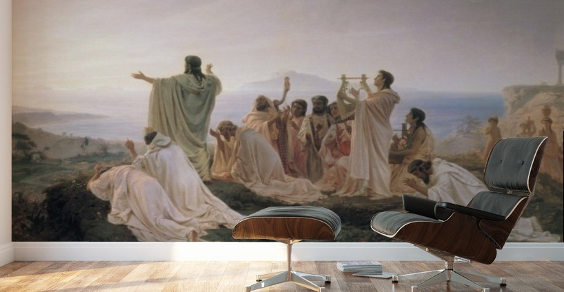 Pythagoreans Celebrate The Sunrise Fyodor Bronnikov Canvas