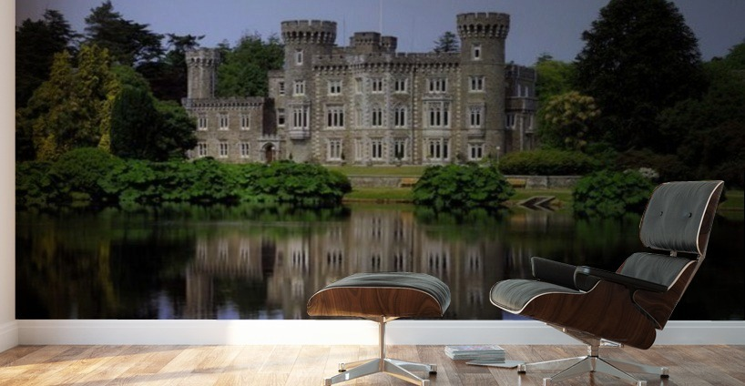 Johnstown Castle Co Wexford Ireland 19Th Century Gothic Revival Wall Murals