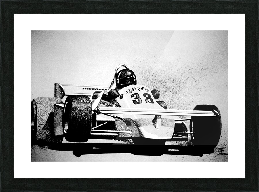 Formula One Theodore Racing 1980 - Donald C Presnell Canvas