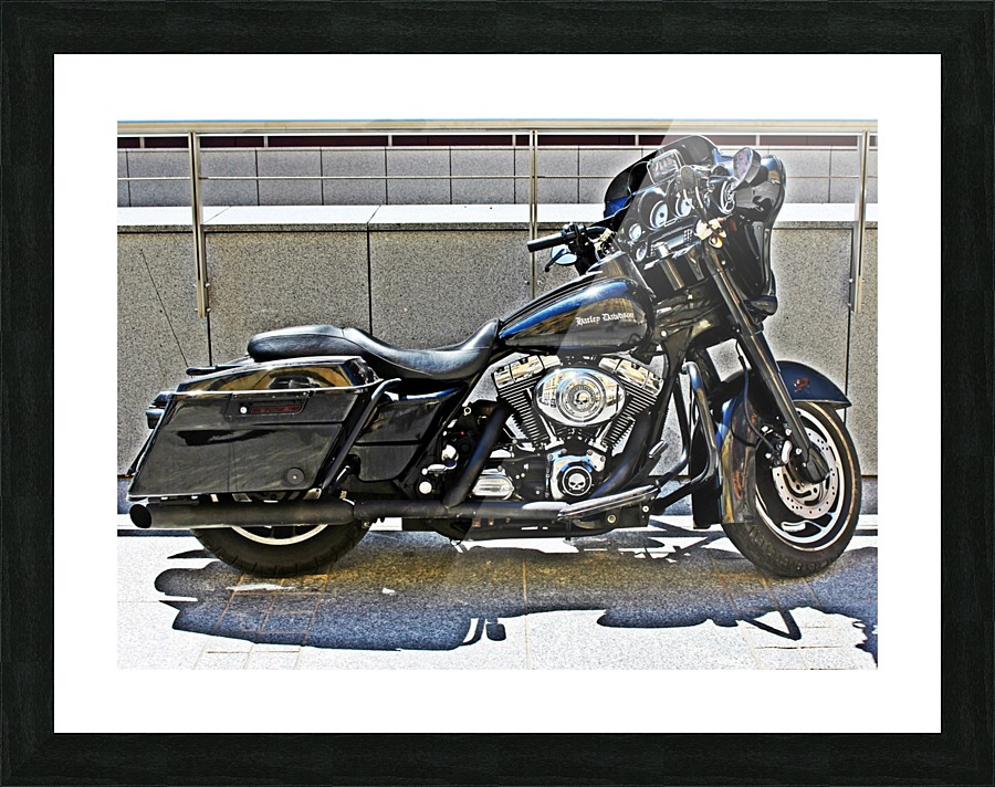 Harley Davidson - Mariusz Wojcik Canvas