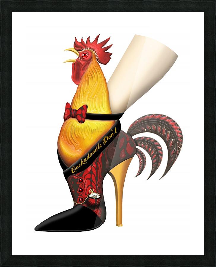 Rooster Strut Anarkissed Canvas