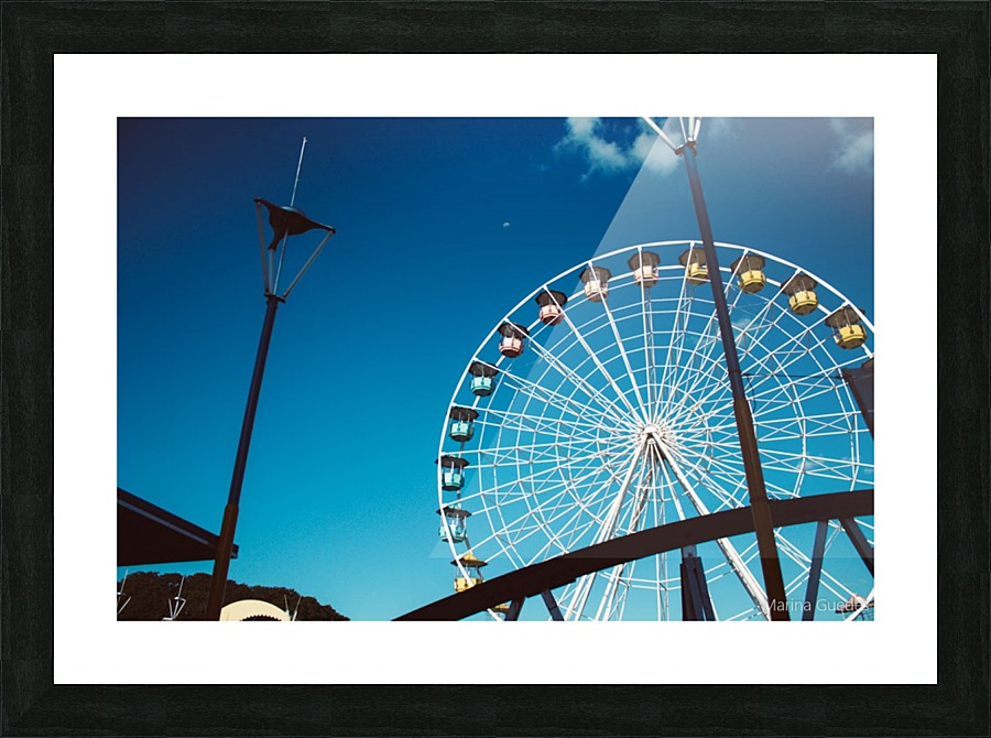 Ferris wheel - Marina Guedes Canvas