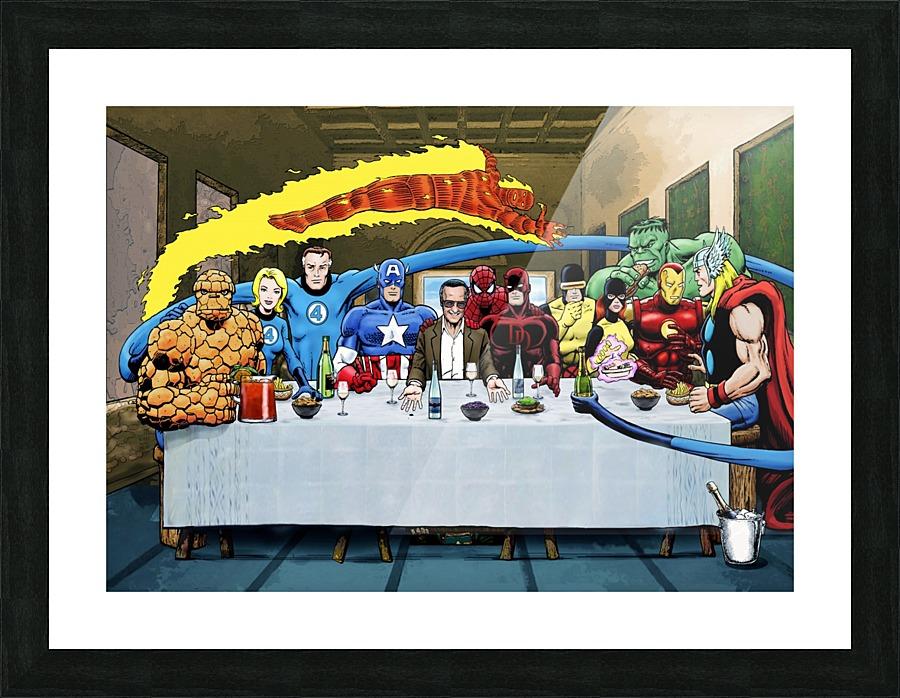 Marvel Superheroes Stan Lees Super Supper With Avengers Fantastic