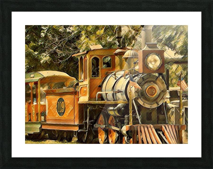 Henry Doorley Zoo Train - Nina Canvas