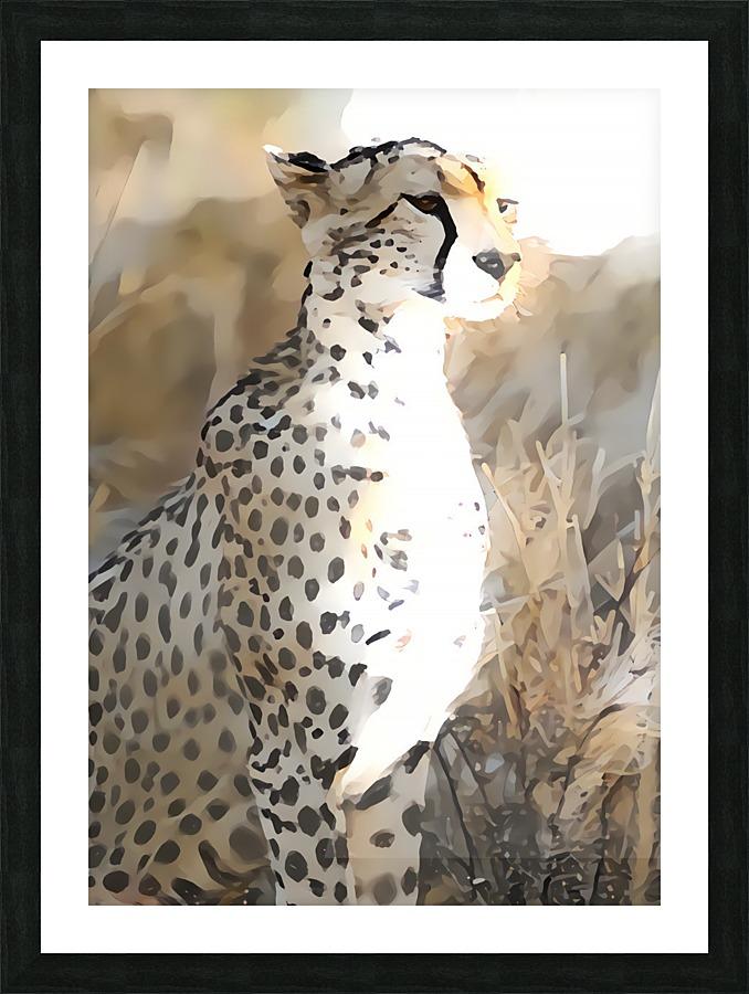 Guardian Cheetah - Monica Amorim Canvas