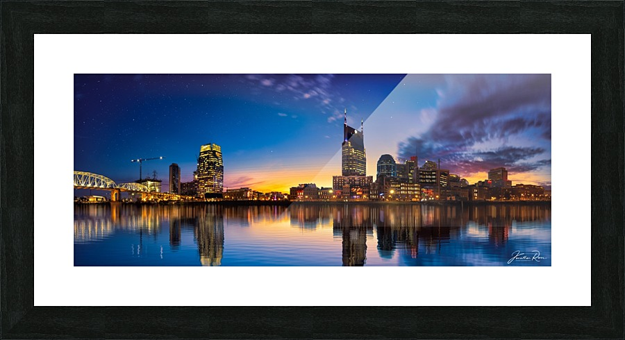 Nashville Skyline Jonathan Ross Canvas