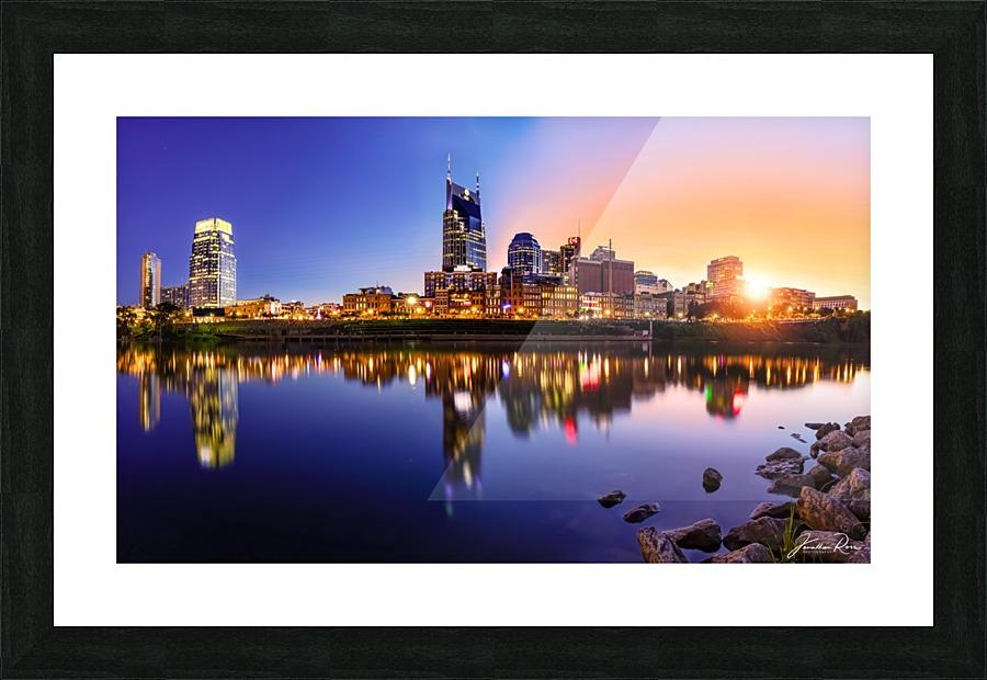 Nashville Skyline - Jonathan Ross Canvas
