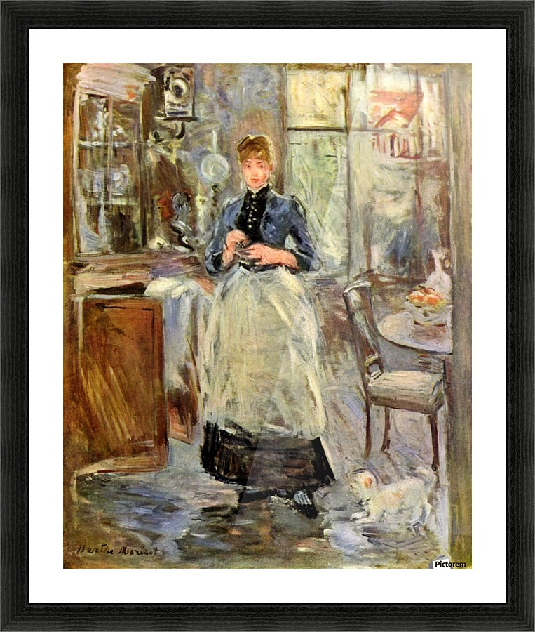in the dining room berthe morisot canvas berthe morisot in the dining room 1886 9 x 11 in by