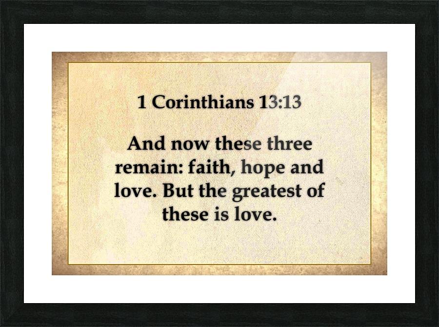 1 Corinthians 13 13 Scripture On The Walls Canvas
