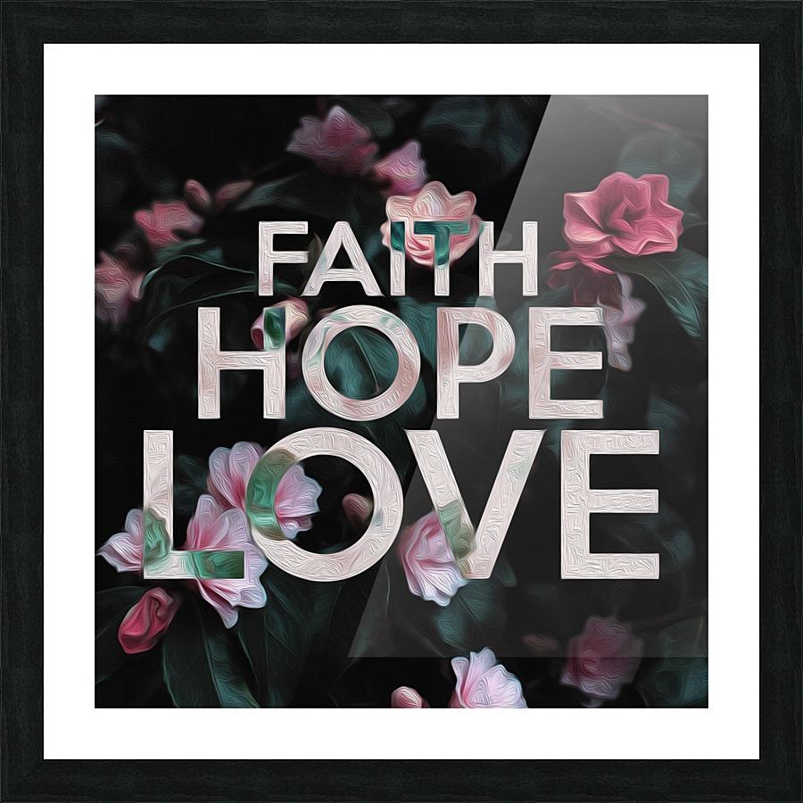 Faith Hope Love Abconcepts Canvas