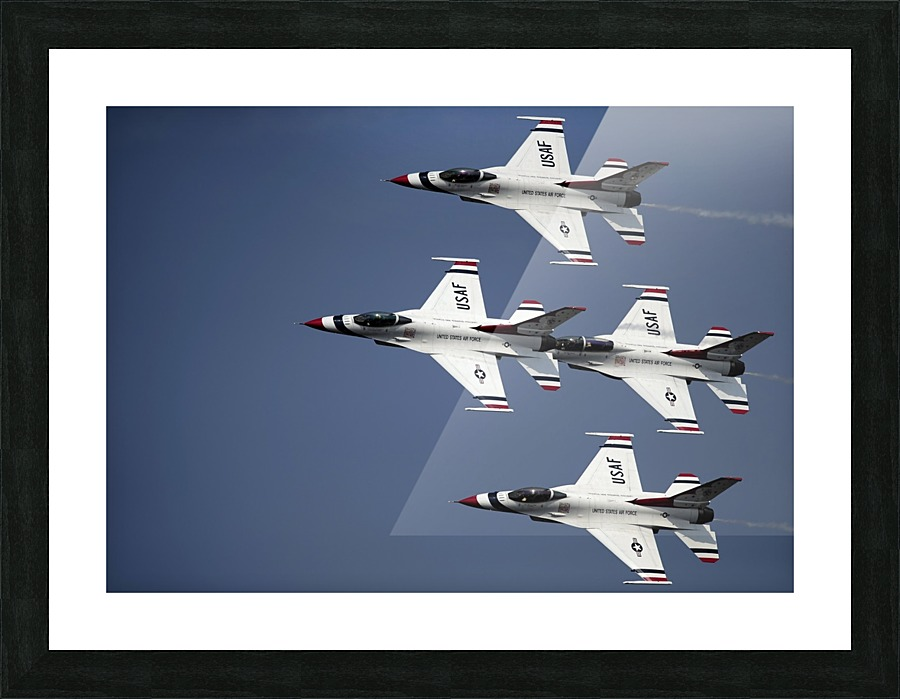 The Us Air Force Thunderbird Demonstration Team Stocktrekimages