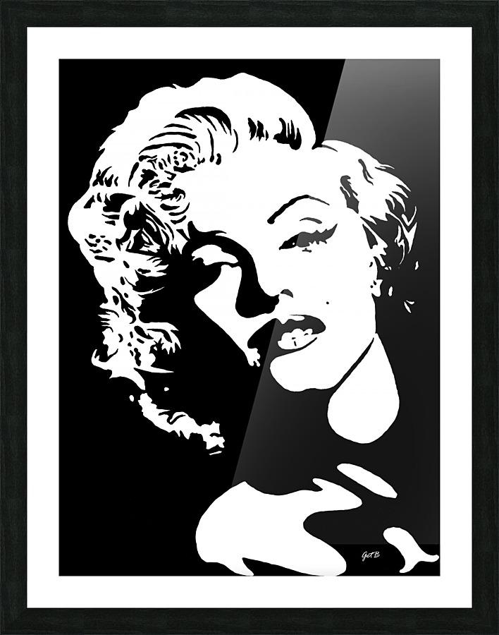 Pop Art Marylin Canvas Print 20*20 Inch