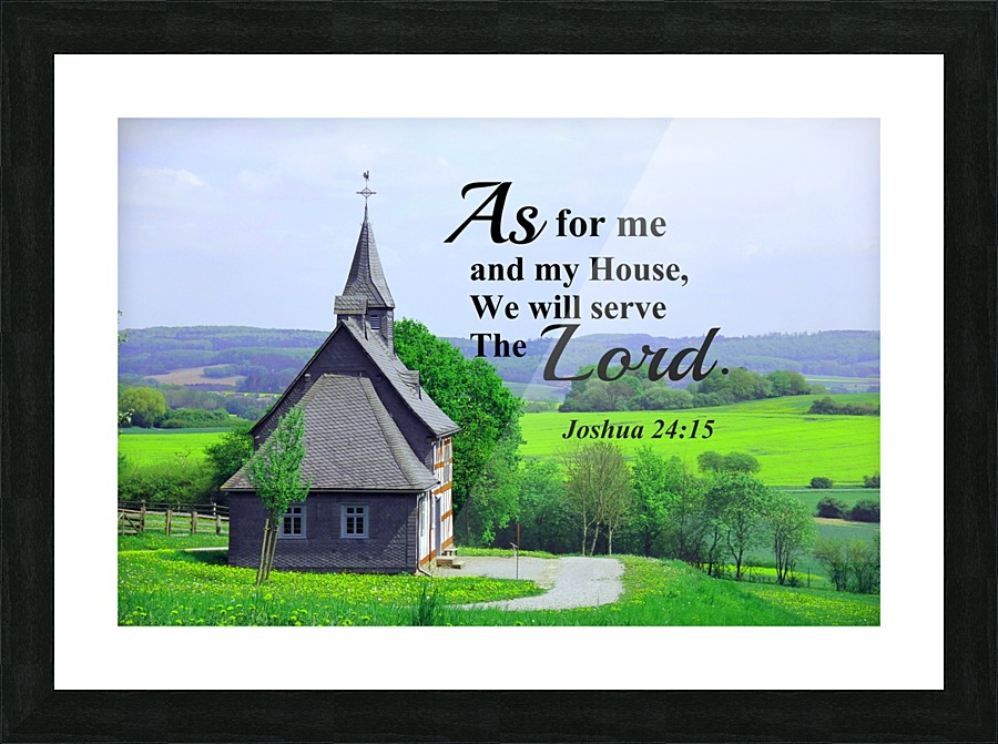 As For Me And My House Edifying Designs Canvas