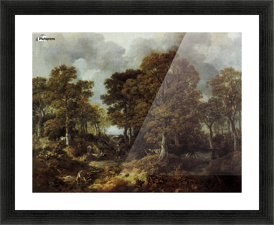 Cornard Wood Near Sudbury Suffolk Thomas Gainsborough