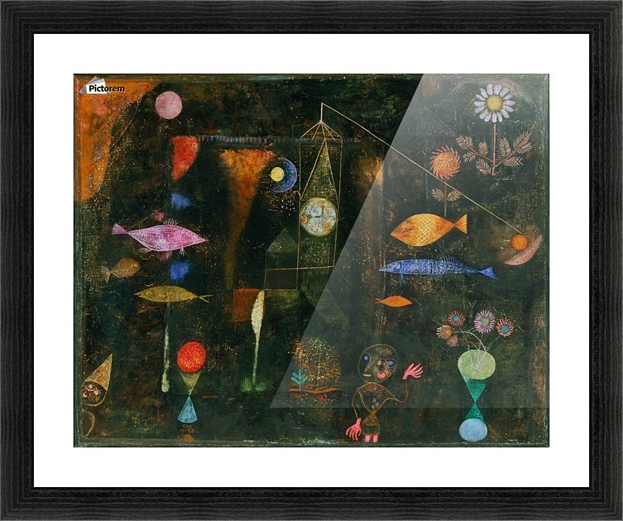 Fish Magic - Paul Klee Canvas