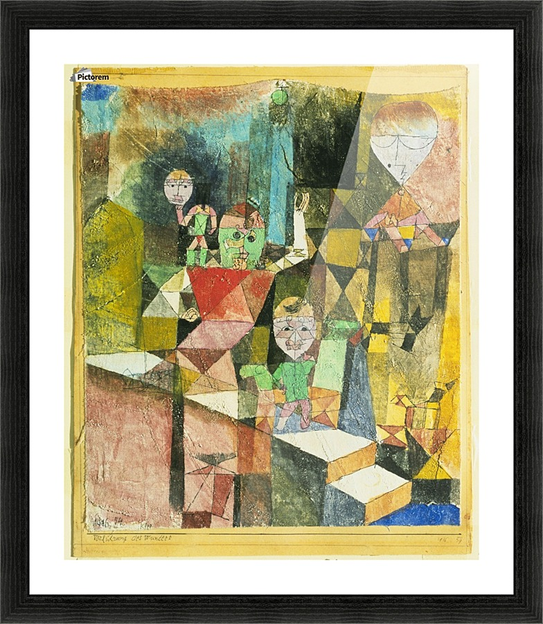 Introducing the miracle - Paul Klee Canvas