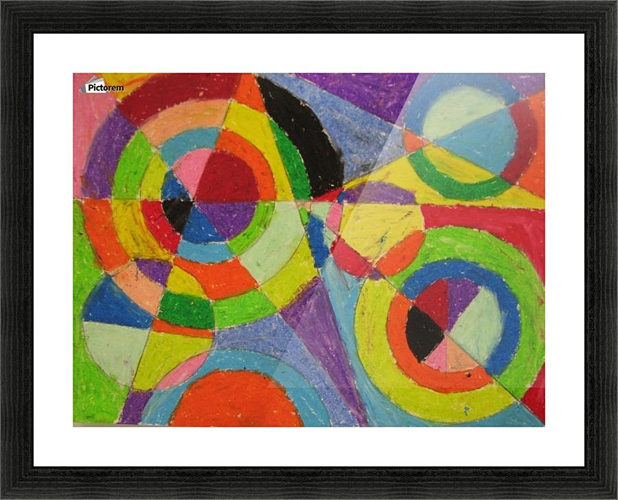 color explosion robert delaunay canvas