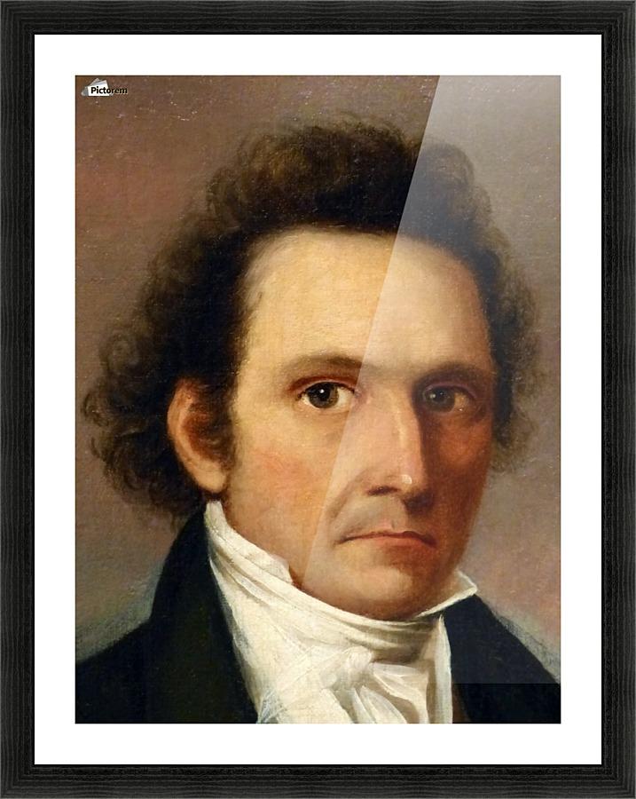 John James Audubon Self Portrait John James Audubon Canvas