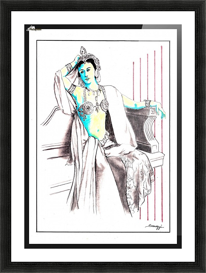 Deadly Diva Mata Hari Jayne Somogy Canvas