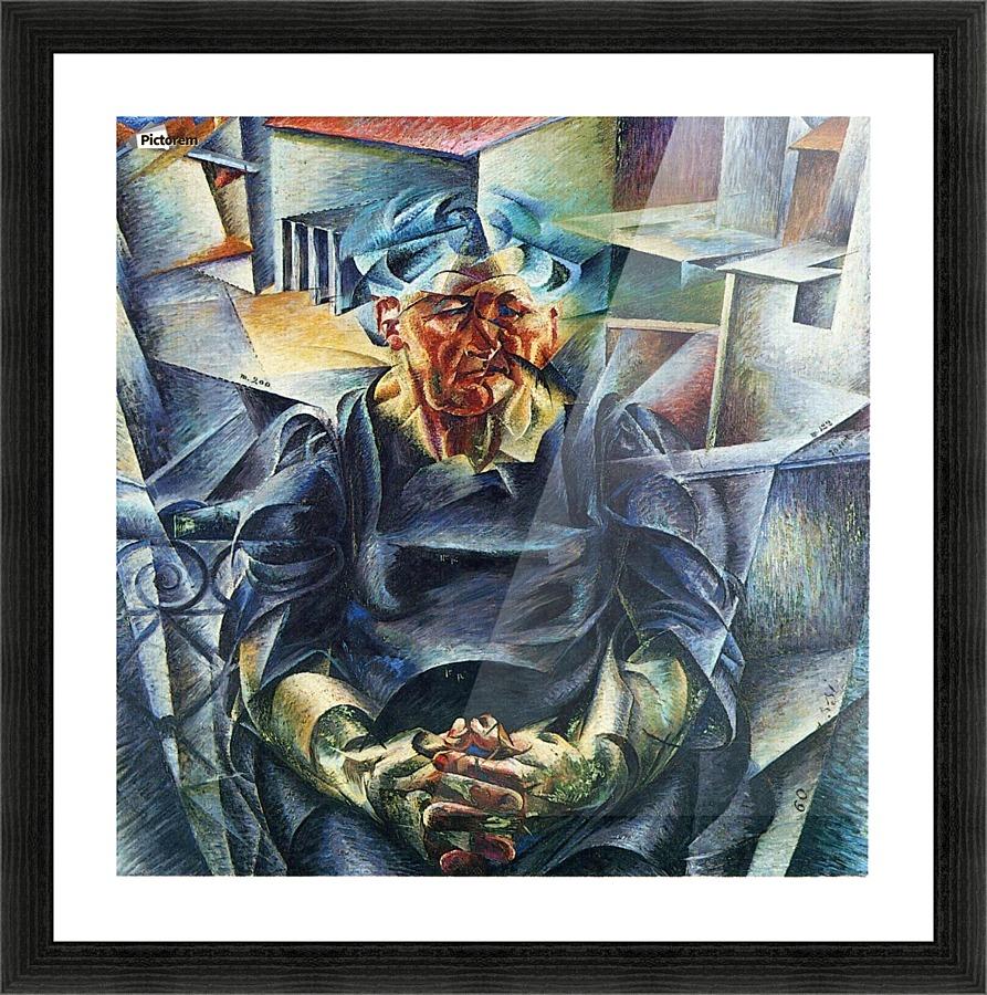 Horizontal Volumes Umberto Boccioni Canvas
