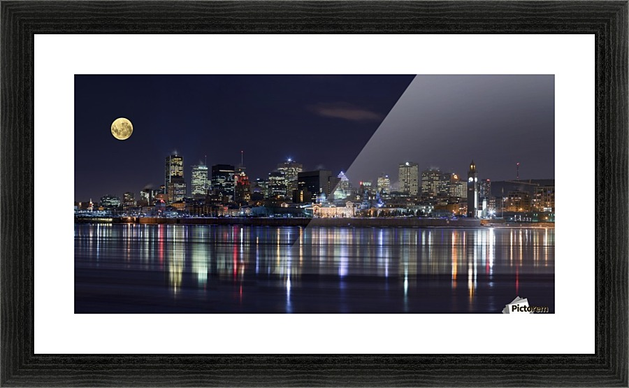 Montreal Night 1x Canvas