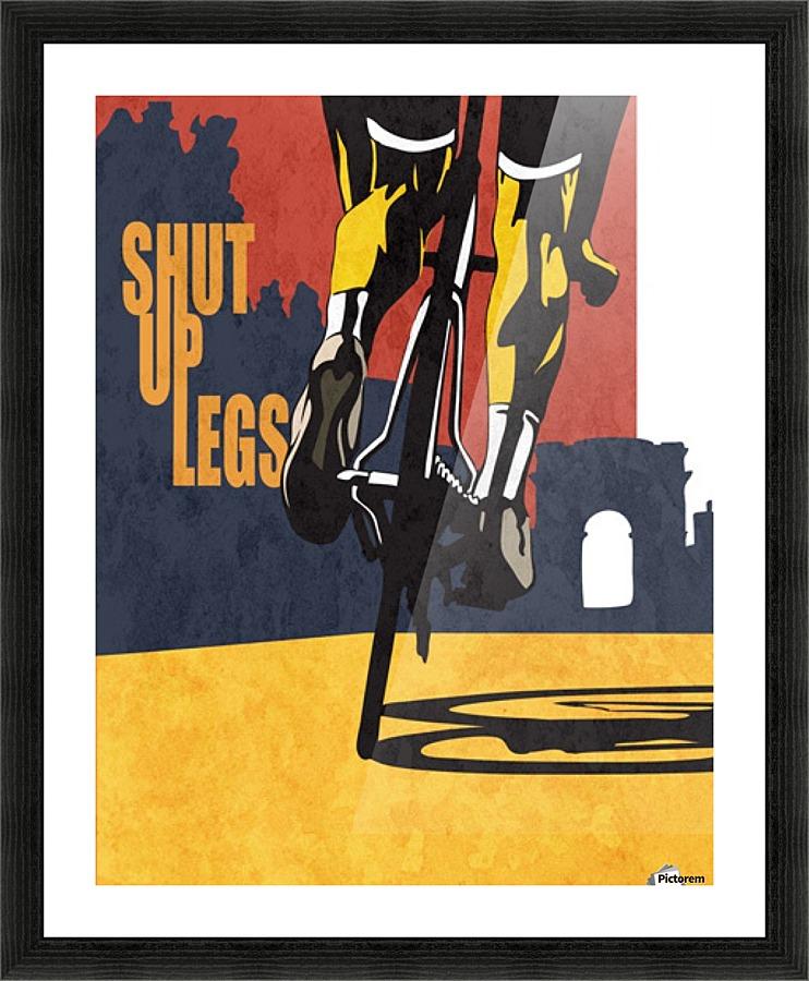 Shut Up Legs Vintage Poster Canvas