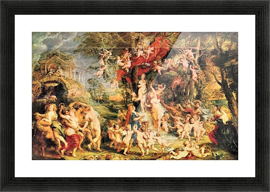 Venusfest By Rubens Rubens Canvas