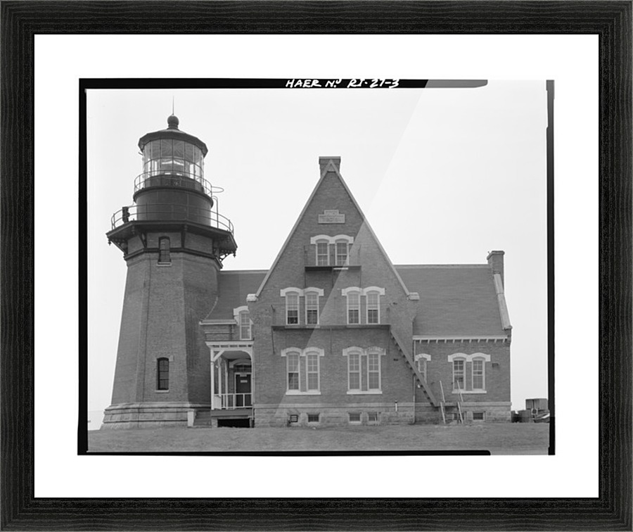 Block Island Southeast Light, Rhode Island - Stock Photography Canvas