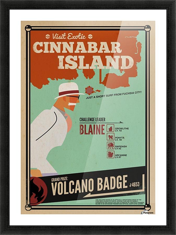 how to get to cinnabar island