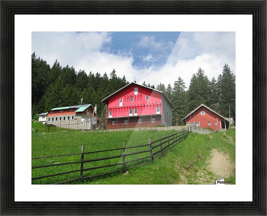 Poiana Izvoarelor Mountain Cabin in Romania - Vlad Radulian - Canvas Artwork
