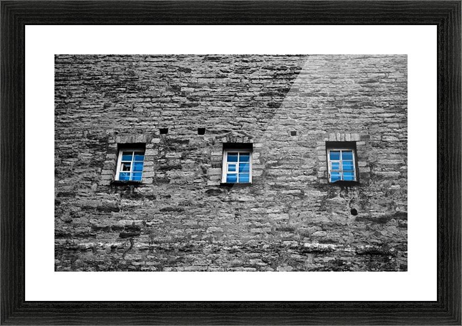 Blue Windows Lpulitude Canvas
