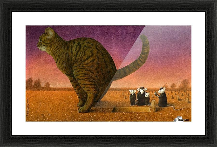 Cat - Pawel Kuczynski Canvas