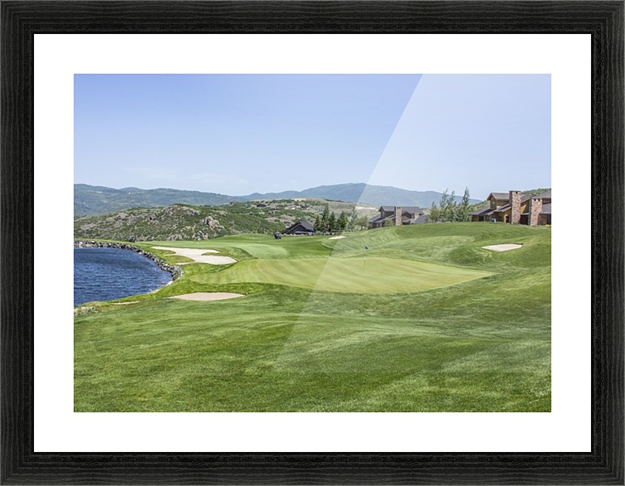 Promontory the Club Golf Course - Andrew Woolstenhulme Canvas