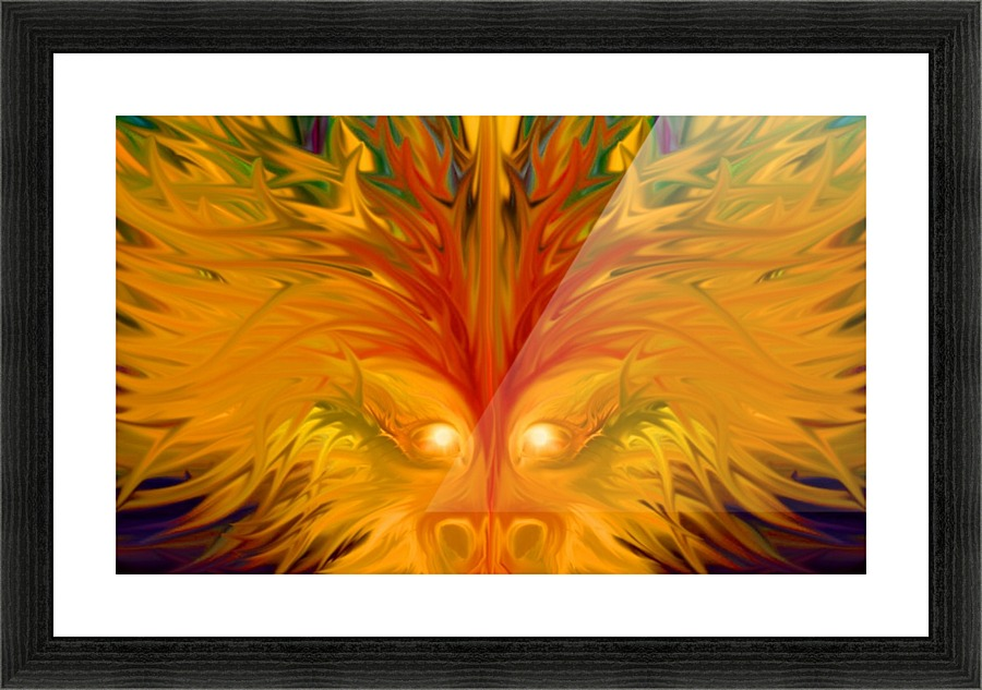 Yellow Dragon - Tammy Shook aka Kelra Canvas