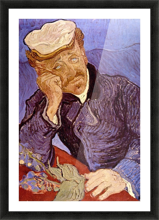 a depiction and analysis of portrait of doctor gachet by van gogh This painting is a portrait of dr paul gachet,  with the blue tone in the picture van gogh once wrote a  dr paul gachet, the middle class doctor and .