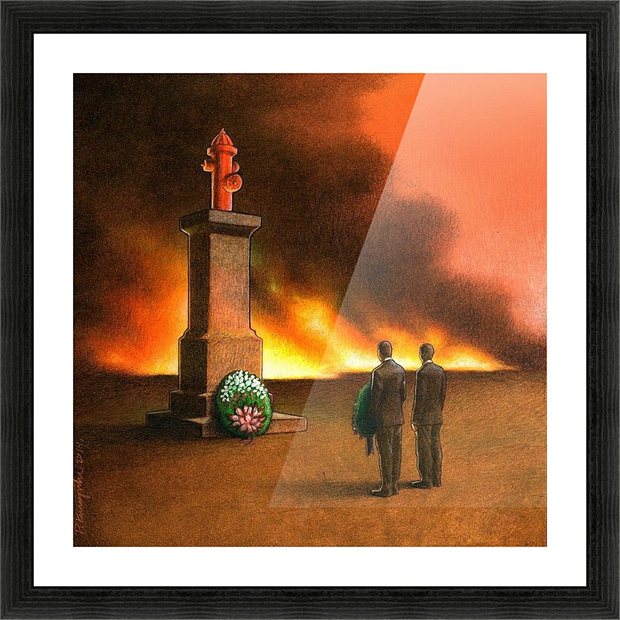 Monument pawel kuczynski canvas monument picture frame printing jeuxipadfo Image collections