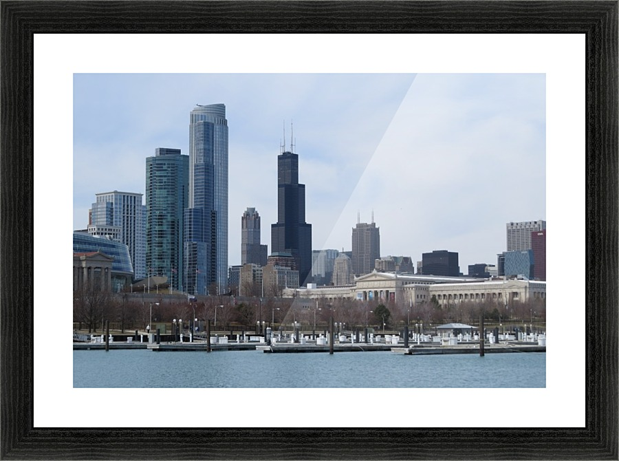 View of Chicago From Northerly Island VP2 - Vicki Polin Canvas